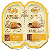 Nutro Perfect Portions Adult Cat Food Soft Loaf – Chicken – 2.6 oz – 24 ct