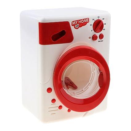 B Blesiya Juguete de Electrodomésticos de Simulación en Miniatura Modelo de Horno Microondas/Plancha/Licuadora Accesorios para Casa de Muñecas - ...