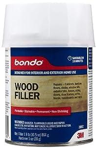 Bondo Brown Wood Filler 1 qt.