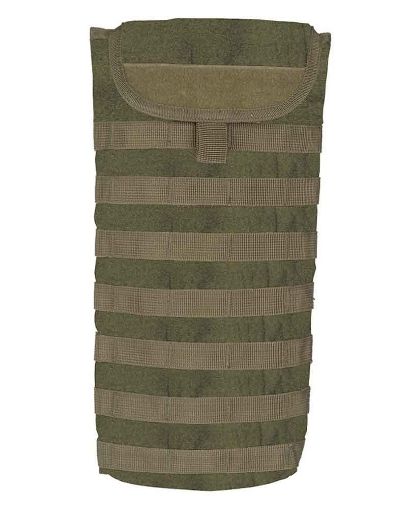 Mil-Tec - Bolsa militar para agua (con cincha Molle), color verde oliva 404687227107
