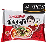 Sweet Potato Vermicelli, Sweet Potato Instant Noodle, 4Pcs Non-fried Health & Aspects Traditional Cuisine from China, GUANGYOU convenience foods, Not Delicious with The Refund! (Spicy flavour)