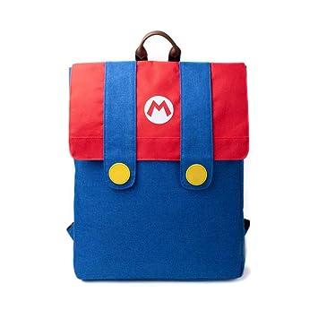Nintendo Super Mario Bros. Mochila de a Diario, Azul (Azul) - BIO-BP846512NTN: Amazon.es: Equipaje