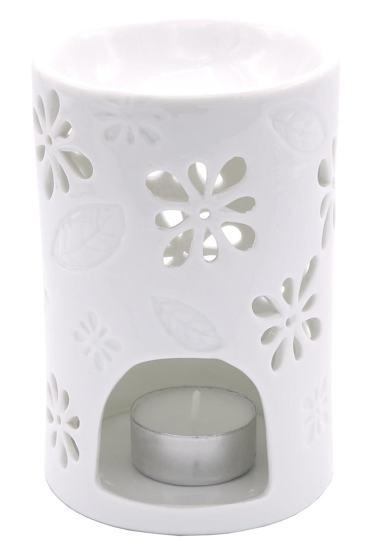 Candle Lite –  Tea Light Lampada di fragranza, Nyl, Bianco, 8.5 x 8.5 x 13 cm 8.5x 8.5x 13cm Candle-liteTM TL-002