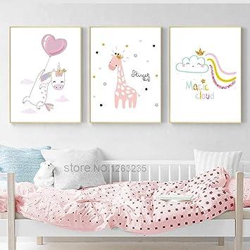 Unicornio globo niña niña decoración de la habitación fotos ...