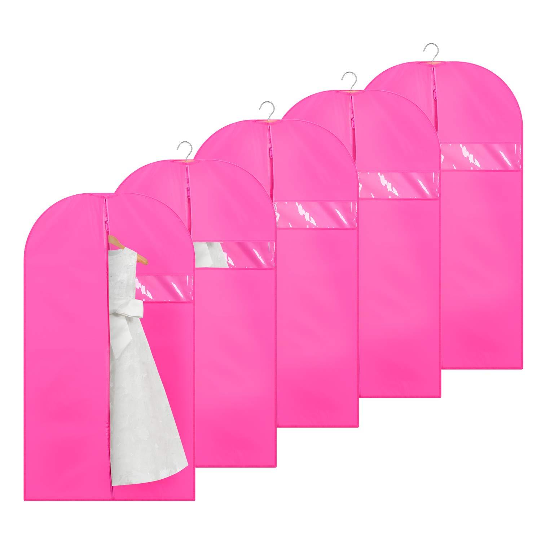 Titan Mall Garment Bag 42'' Suit Bag for Luggage, Dresses, Dustproof and Moistureproof