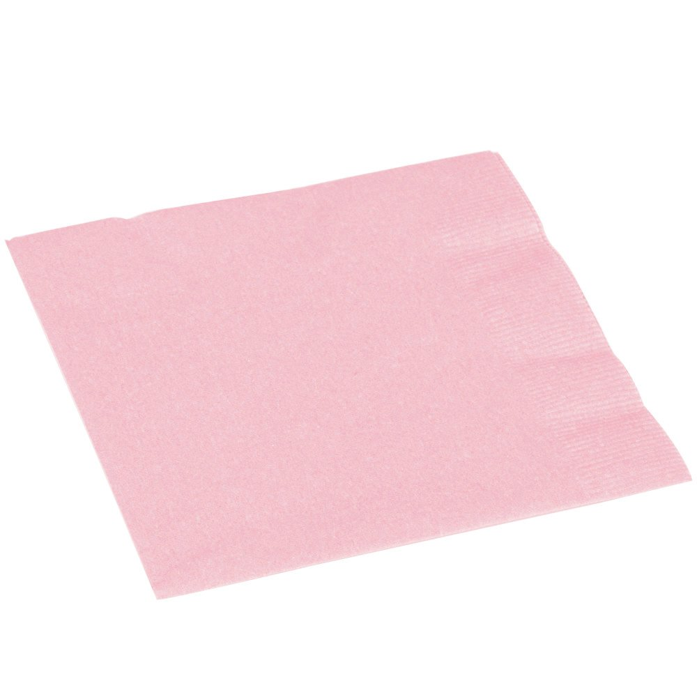 Party Supply Pack of 20 Jet Black 2-Ply Dinner Napkins