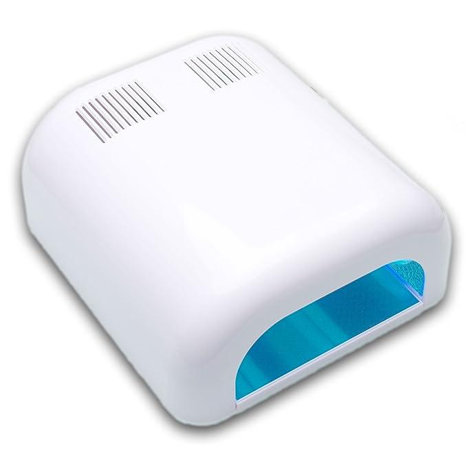 TAKIT Secador Uñas 36 Watts - Lámpara de Uñas con Temporizadores, para Shellac y Gel + 4 x Bombillas de 9W Incluidas - Bandeja Deslizante: Amazon.es: Salud ...
