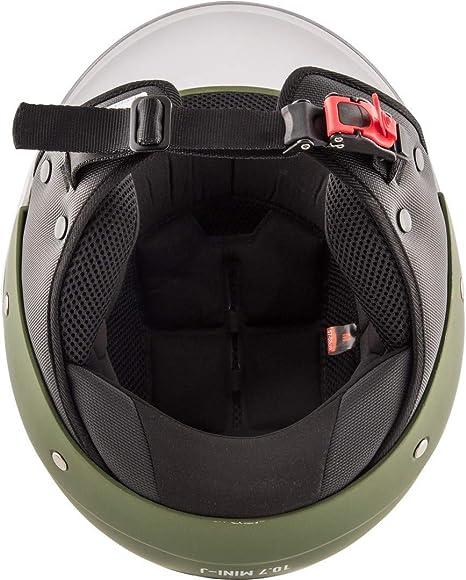 Givi HPS 10.7 Mini-Jet-Helm 56 Schwarz Matt