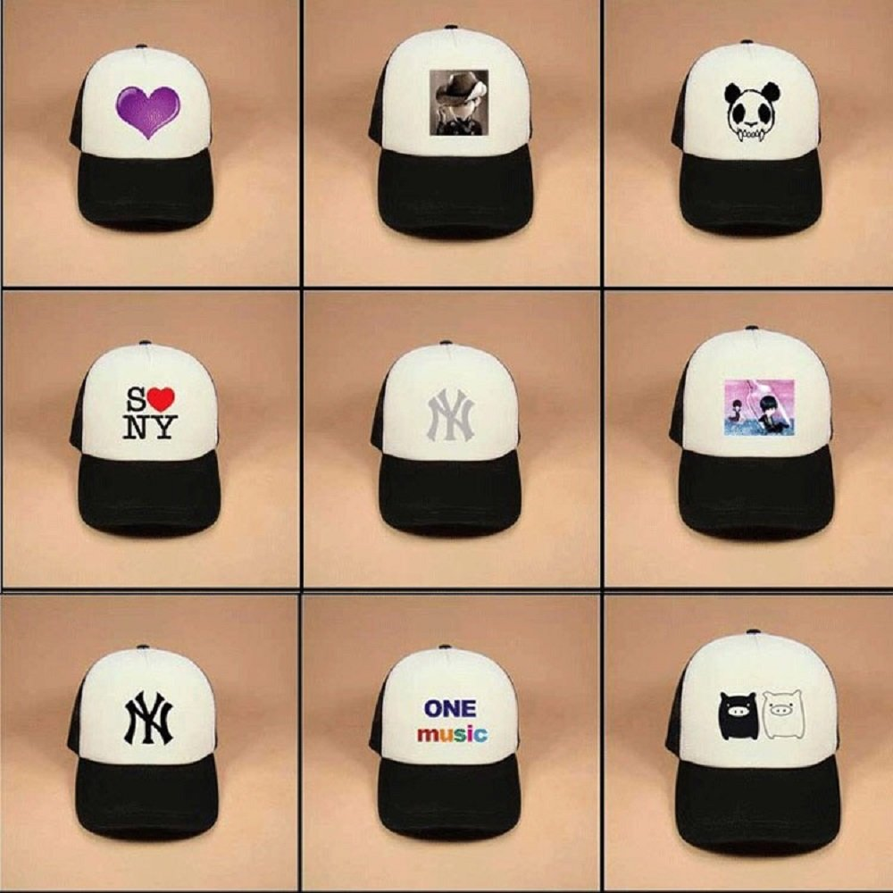 Custom Breathable Trucker Mesh Hat,Adjustable Snapback Hat for Men & Women for Leisure and Sport by NAIVEA (Image #7)
