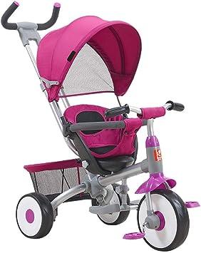 Triciclos Cochecito De Bebé Plegable 3 En 1, Cochecito Plegable ...