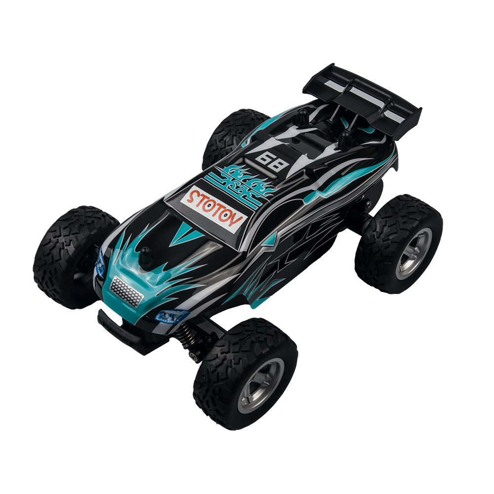 STOTOY High-Speed RC Car 1/24 Scale 15km/h Best Remote Control Electric Vehicle for Kids Under 100 Dollars
