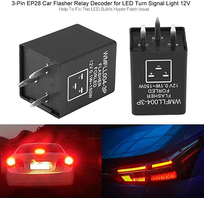 Cuque 12V Universal Street Hot Rod Turn Signal Switch for Ford Buick GM Most 12V Cars
