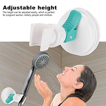 Bathroom Strong Attachable Wall Suction Cup Shower Holder Bracket
