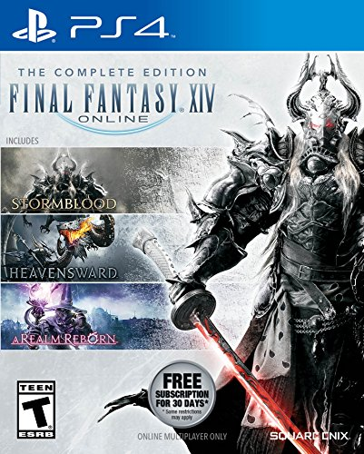 Final Fantasy XIV Online Complete Edition - PlayStation 4 (Final Fantasy 14 A Realm Reborn Review)