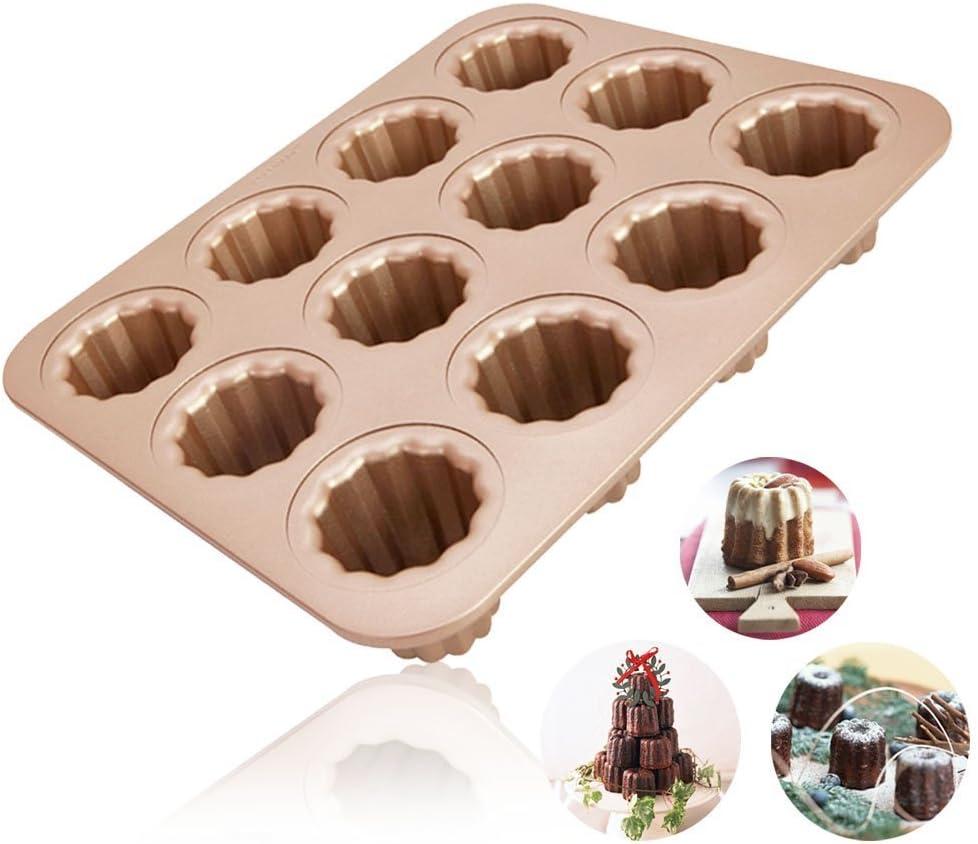 Johnson /& Sookie Brownieform Backform//Brownies//Muffinform Cupcakes//Muffin Form