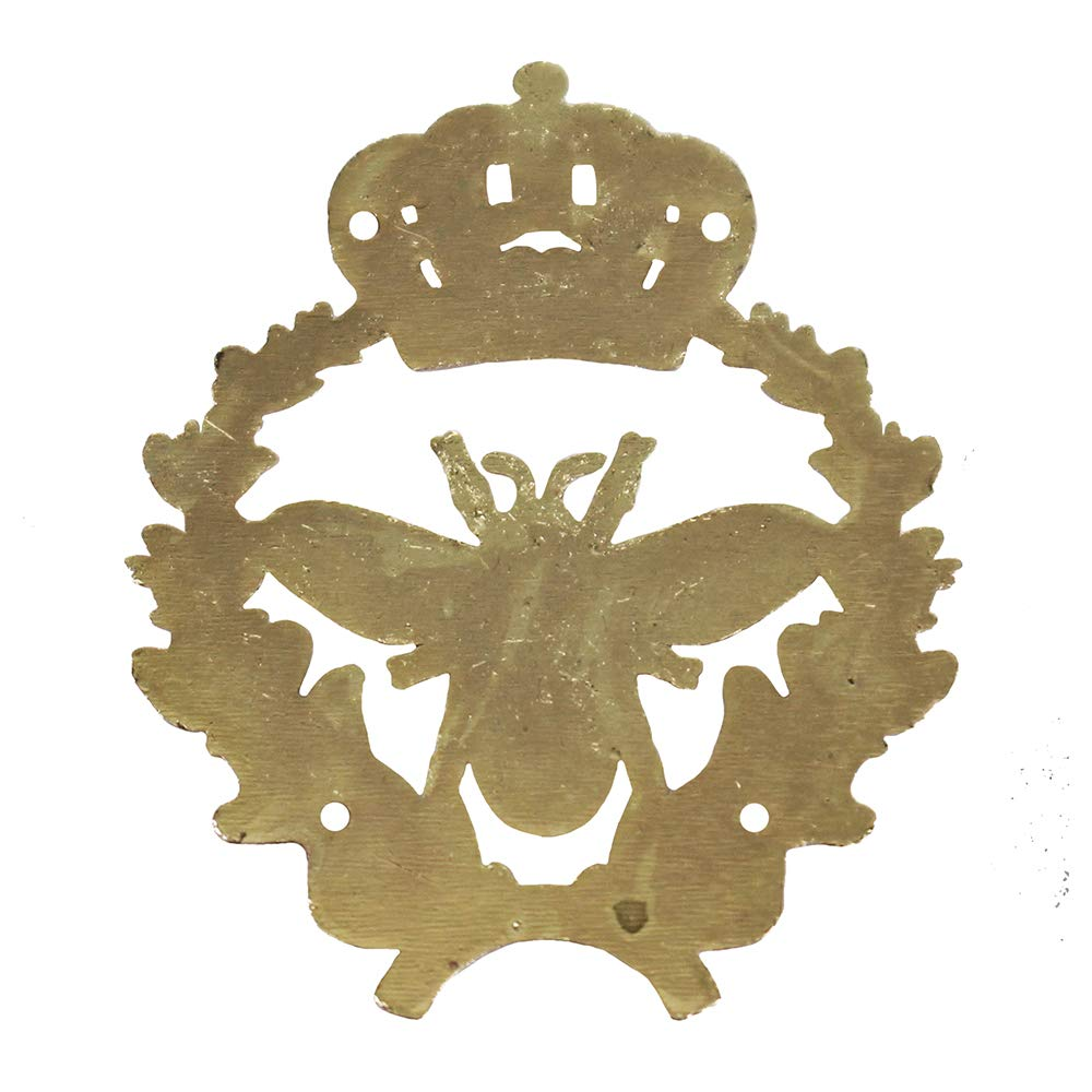 10 rivetti in metallo stile vintage a forma di corona con cristalli per cerniere e spille da borsetta C