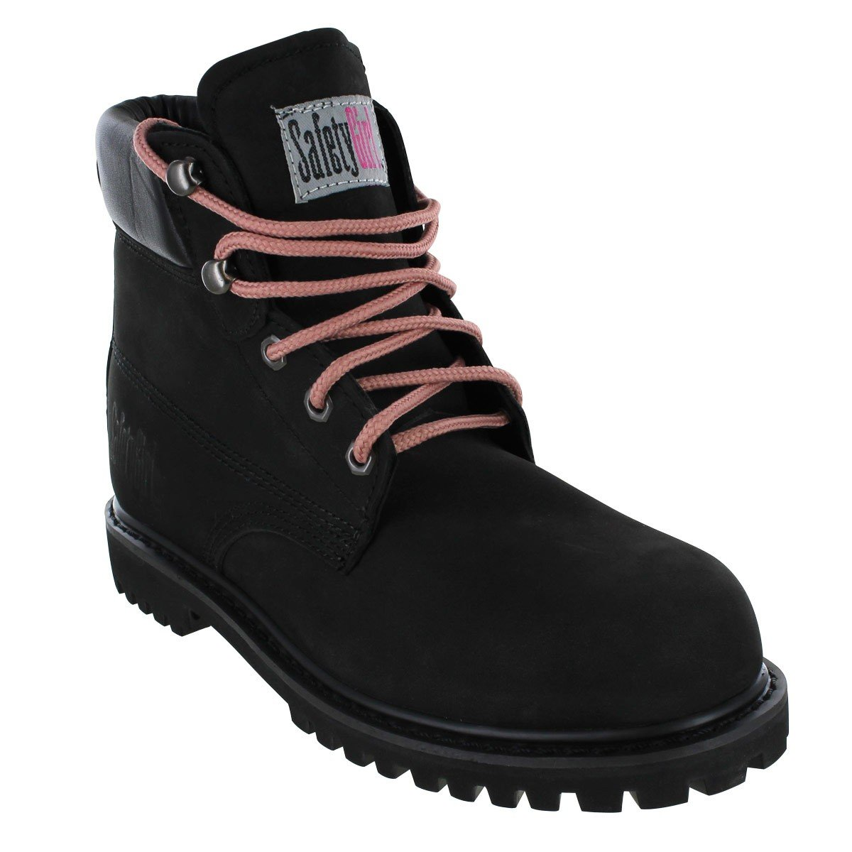 Safety Girl II Steel Toe Work Boots - Black by Safety Girl (Image #2)