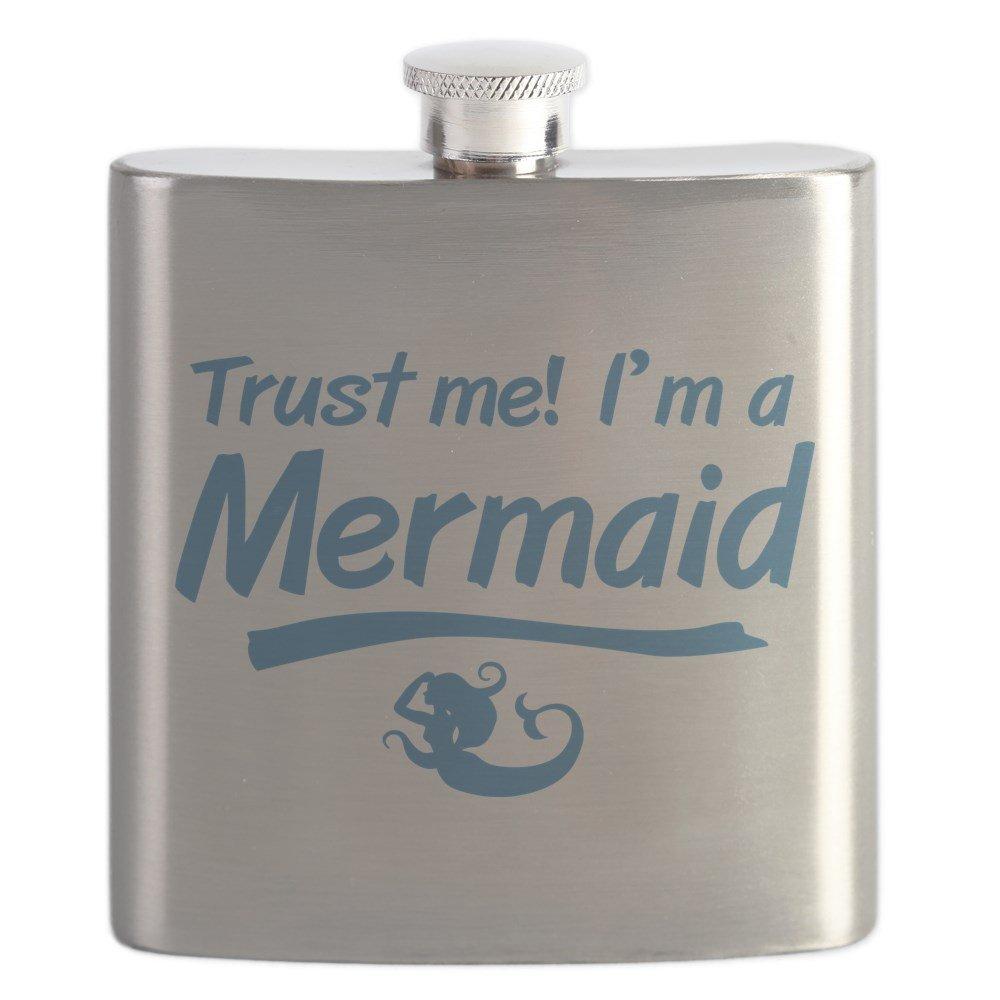 店舗良い CafePress – – Trust CafePress Me Im A – Mermaid – ステンレススチールフラスコ、6オンスDrinkingフラスコ B01IUFFGTQ, ムッシュマスノ アルパジョン:532247f1 --- a0267596.xsph.ru