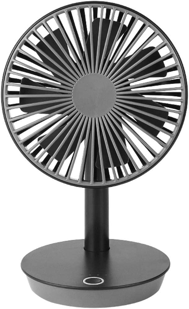 Mini ventilador portátil Ventilador de escritorio USB, dormitorio estudiantil, escritorio de escritorio, escritorio, alta energía eólica, enfriamiento, aire, marchitarse (tamaño: 160 * 260 * 140 mm)