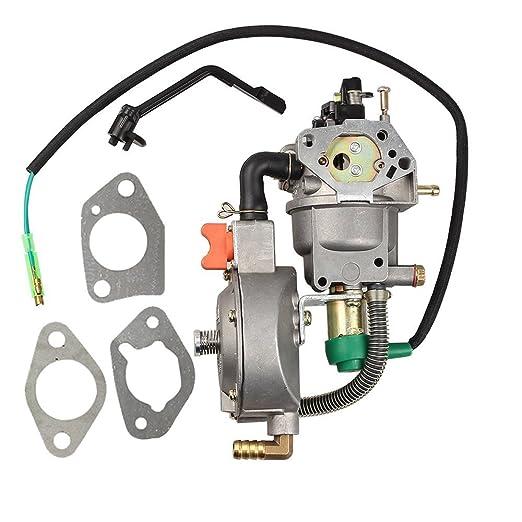 HIPA Dual Fuel carburador LPG NG conversión para Honda GX270 ...