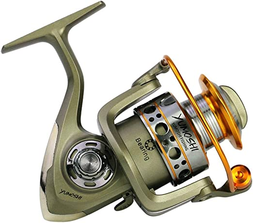 Xhtoe Spinning Carretes 1000-7000 Rueda del Arte de Pesca Pesca de Ruedas Serie Cabeza del Metal Carrete de la Pesca de Giro del Carrete de Pesca Carrete de Pesca al Aire Libre:
