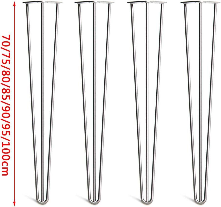 Accessoires de Table//Pieds en Fer forg/é ^/_^ ZQ Pieds de Table en /épingle /à Cheveux DIY Table Basse//Table de Maquillage//Bureau dordinateur//Bureau//Support