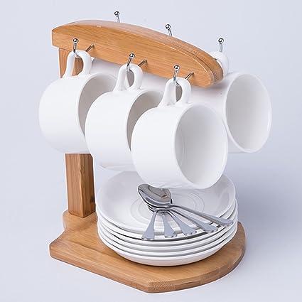 Tazas de café WSSF Set de 6 Tazas de Agua de 150 ML Set de Taza