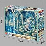 Japan Import 300-piece jigsaw puzzle mechanic Ronde [glowing puzzle] (26x38cm)