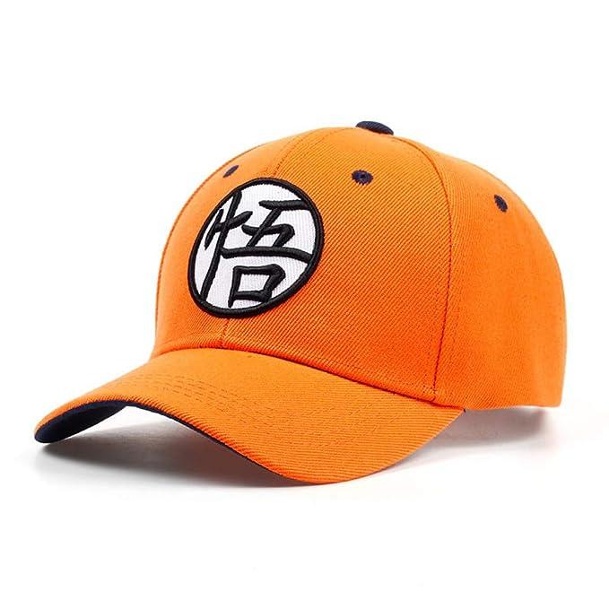 Yooci Gorras De Hombre Algodón Dragon Z Goku Gorras De Béisbol ...