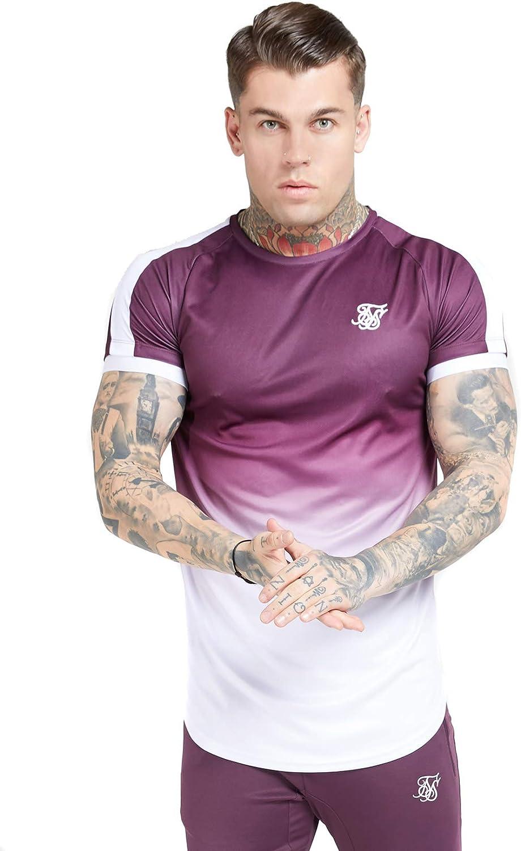 Camiseta Siksilk s/s Fade Tech tee Hombre: Amazon.es: Ropa y ...