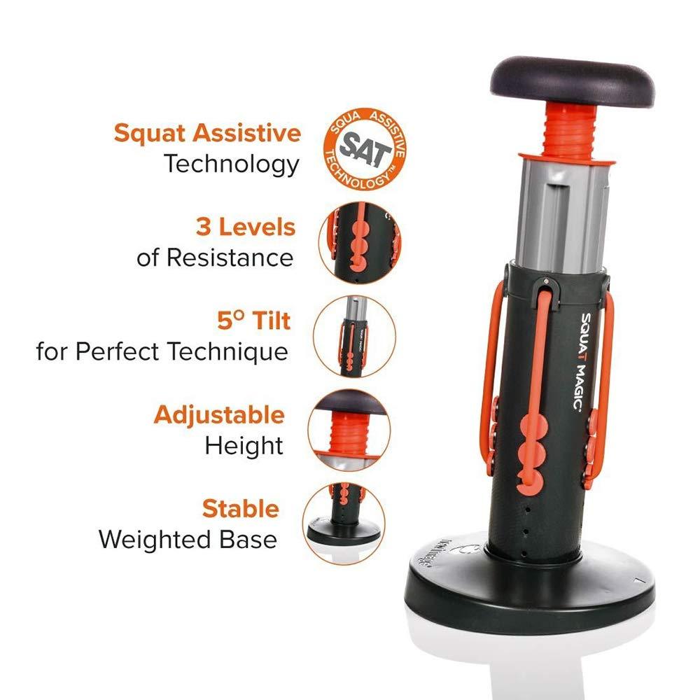und Kerntrainingsger/ät Unisex-Unterk/örper H/üfttrainer Bauchmuskel Oberschenkel Squat Magic Home Gym Workout Kniebeugen-Assistent