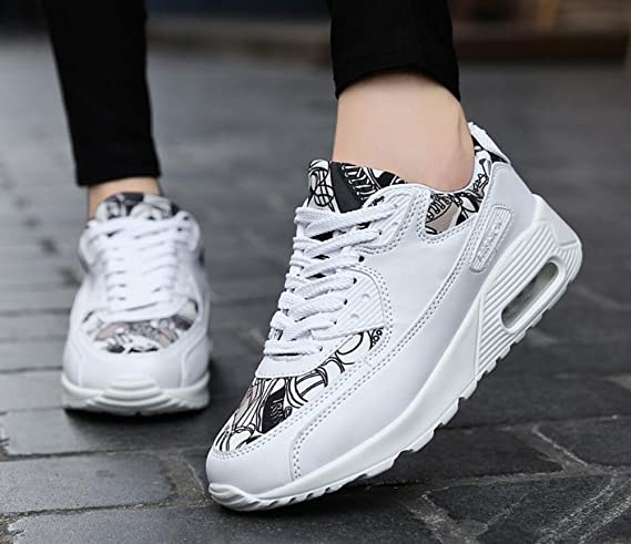 Amazon.com : Mens/womens Sneakers 2018 Personality Fashion Comfort Running Sports Shoes Lovers Non-slip/wear-resistant Casual Shoes (Color : 003, ...