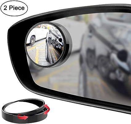 2x Car RV Blind Spot Mirror Universal Exterior Rear Side View Practical Glass