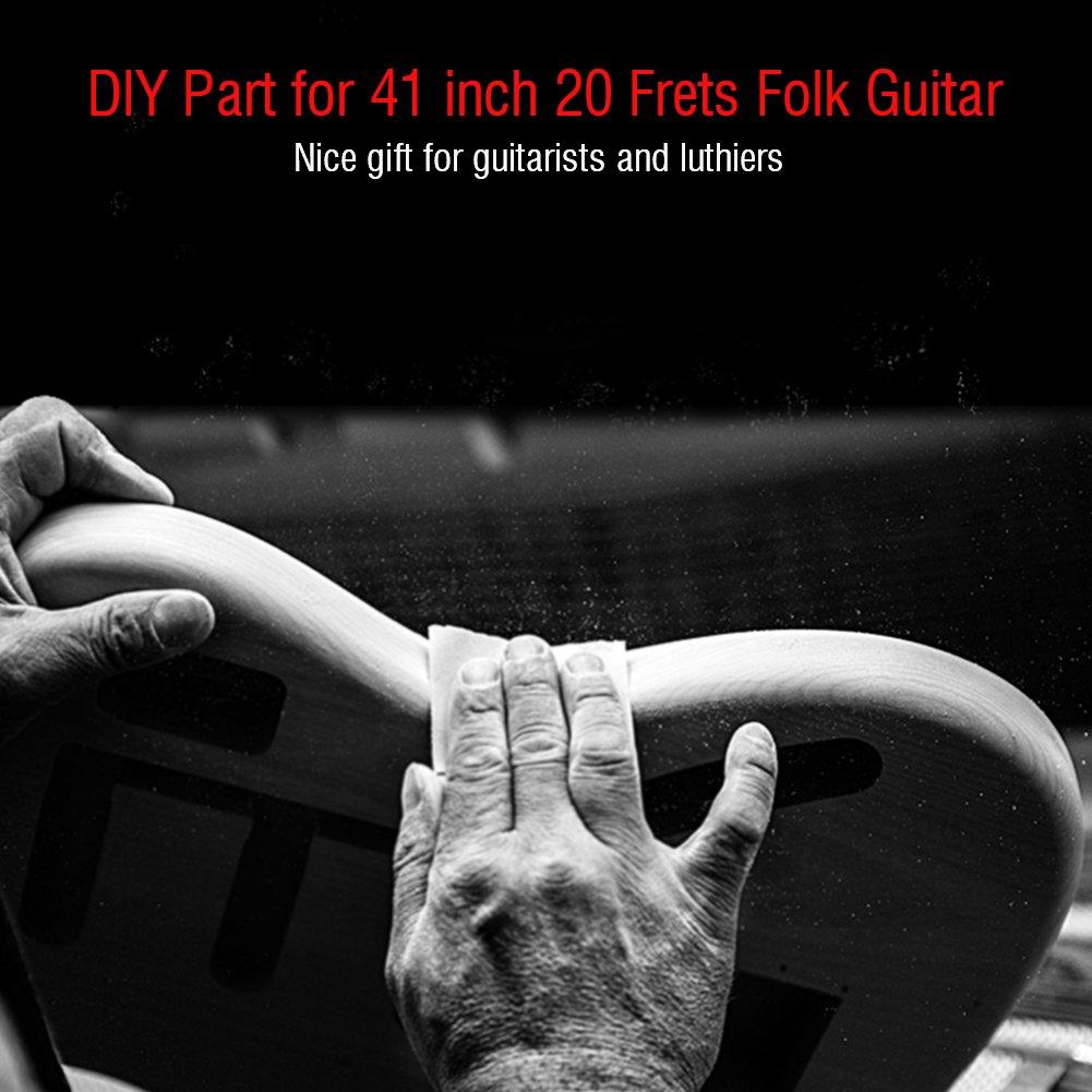 Cuello de Guitarra 20 Trastes Diapasón para Fender Reemplazo Tele 41 Pulgadas: Amazon.es: Instrumentos musicales