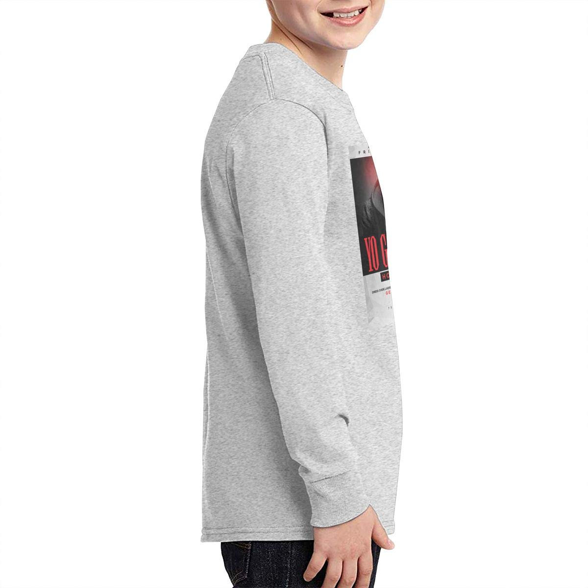 TWOSKILL Youth Yo-Gotti Long Sleeves Shirt Boys Girls