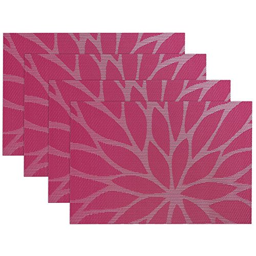homedeco-4-pcs-place-mats-dining-room-placemats-for-table-heat-insulation-stain-resistant-waterproof