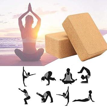 LISHUAISHUAI Paquete De 2 Bloques De Yoga De Alta Densidad ...