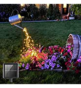 VOOKRY 240 LEDs Solar Fairy Lights Outdoor Waterproof,Bunch Lights,Waterproof Watering Can Light(...