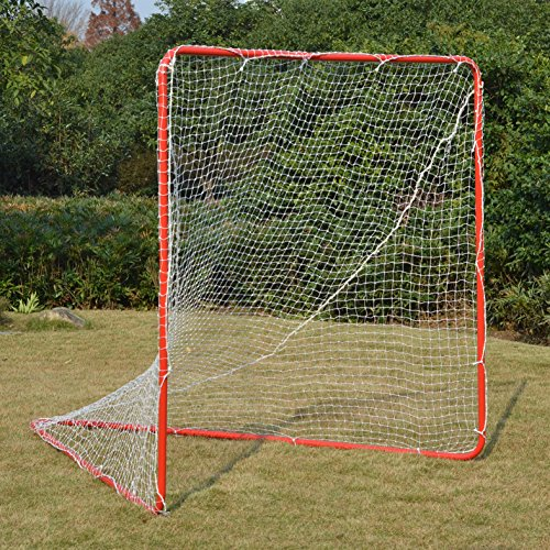 Strong Camel NEW 6' X 6' X 7' Portable Lacrosse Practice Net Quick Set Up Lacrosse Goal by Strong Camel