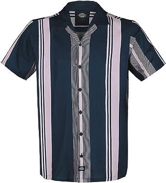 Dickies Forest Park Hombre Camisa Manga Corta Azul Oscuro, Regular: Amazon.es: Ropa y accesorios