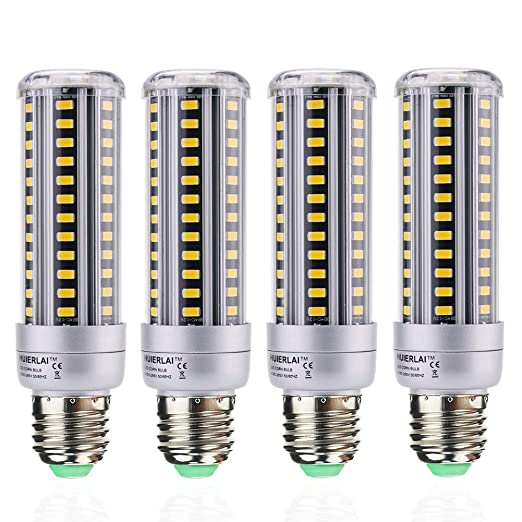Bombilla LED E27 Luz Blanco Cálido 15W E27 Led Maíz Bombillas equivalente a 120W 1380 Lumen