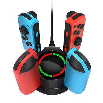 Amazon.com: OIVO - Cargador controlador para Nintendo Switch ...