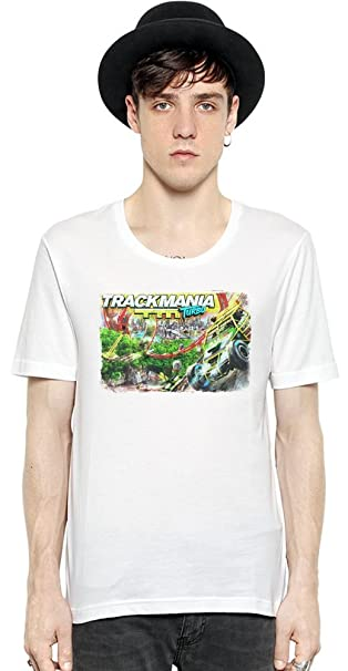 Trackmania Turbo Track Manga corta para hombre de la camiseta