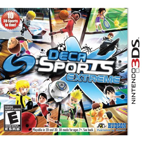 Deca Sports Extreme - Nintendo 3DS (Nintendo Ds Basketball)