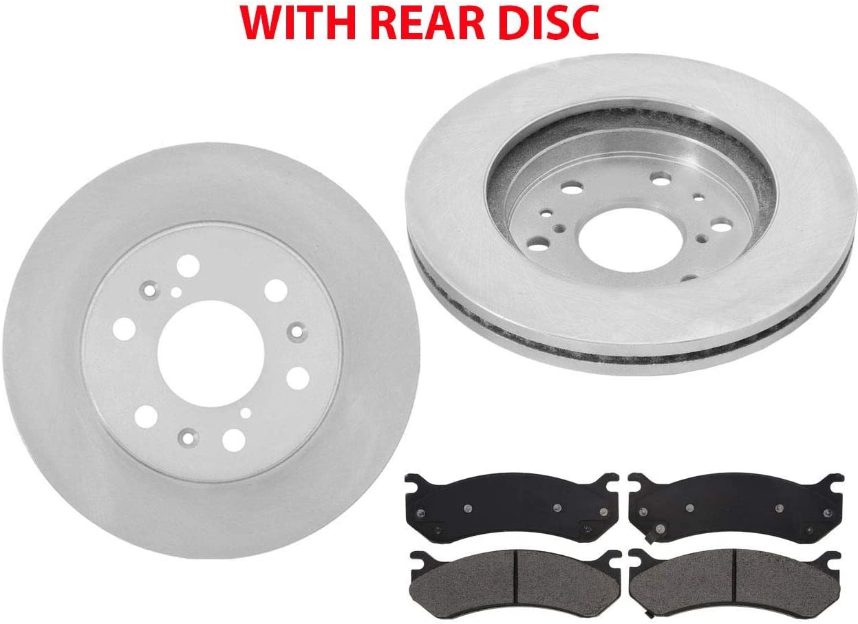 Front And Rear Ceramic Brake Pads For 1994 1995 1996 Impala Caprice