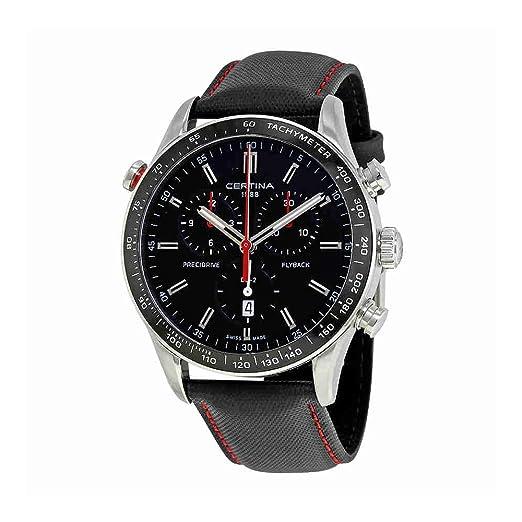 Certina DS-2 Flyback Reloj de Hombre Cuarzo 43mm C024.618.16.051.00: Amazon.es: Relojes