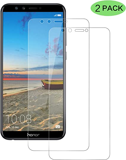 CNXUS [2-Pack Cristal Templado Compatible con Huawei Honor 9 Lite ...