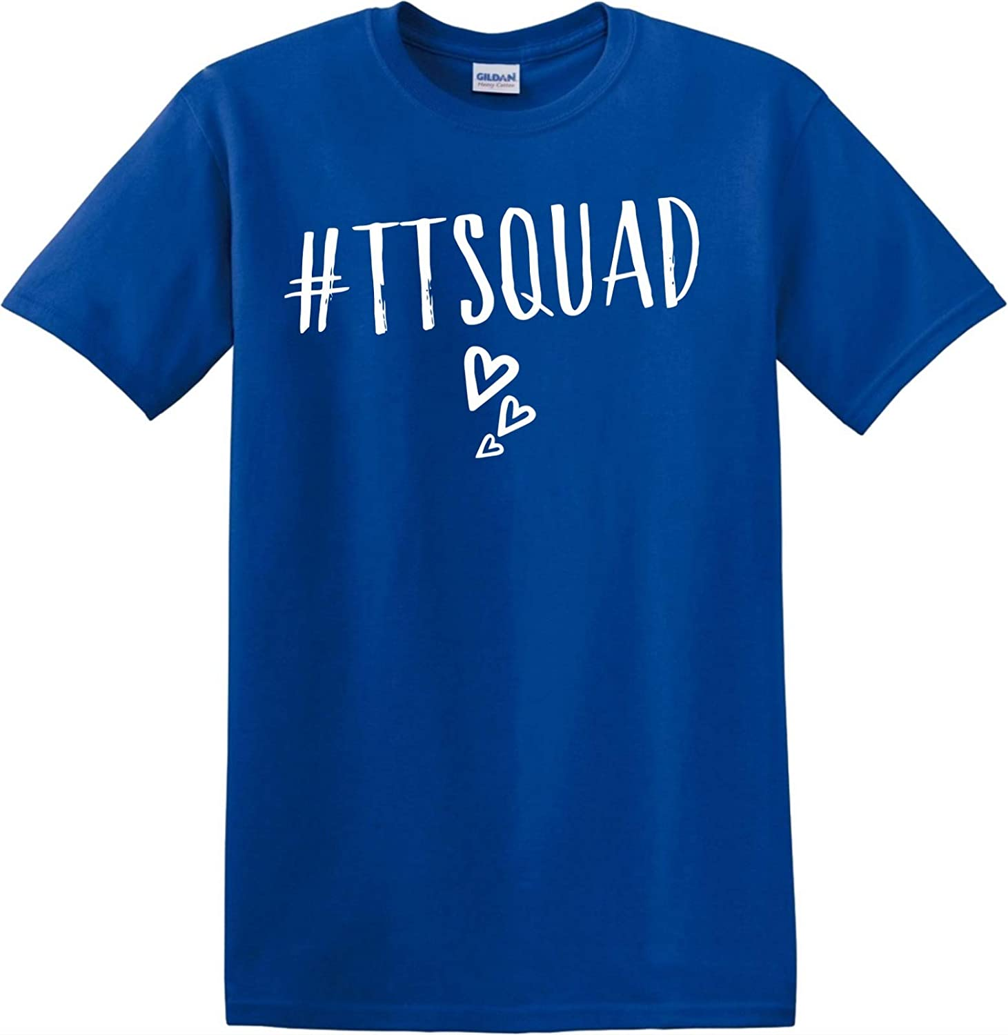 Tiana TT Squad Toys and Me Girls T Shirt Kids Girls Boys YouTube Hearts Tee Top