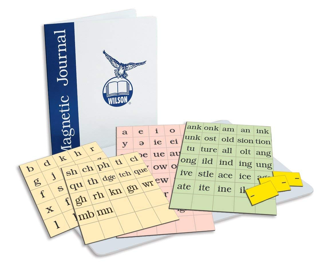 WRS Magnetic Journal with Letter Tiles, 4TH Edition by Wilson Language Training