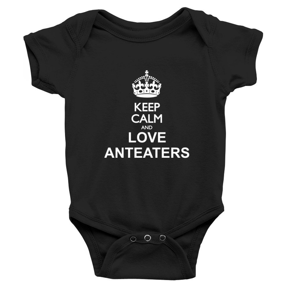 Teeburon Keep calm and love Anteaters Baby Bodysuit